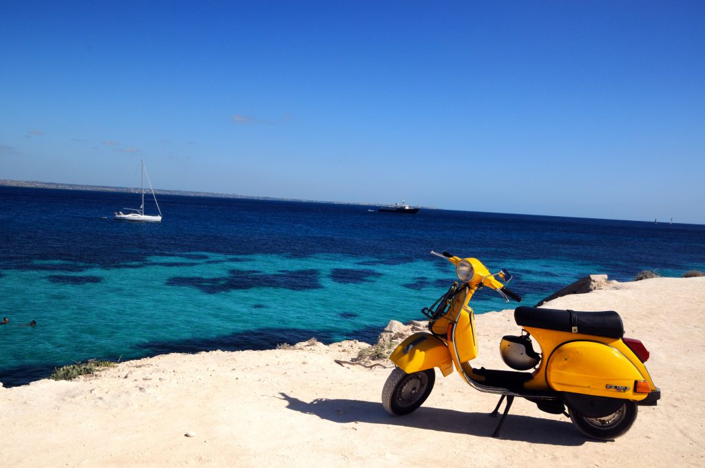 Cheap rental cars and motorbikes in Ibiza