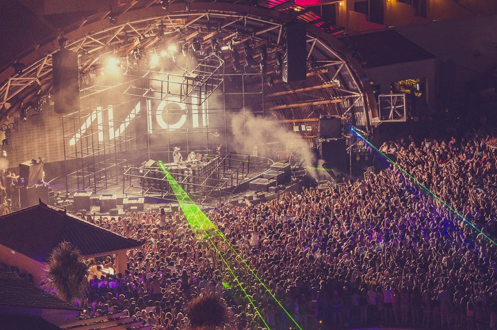 Parties and nightclubs of Ibiza