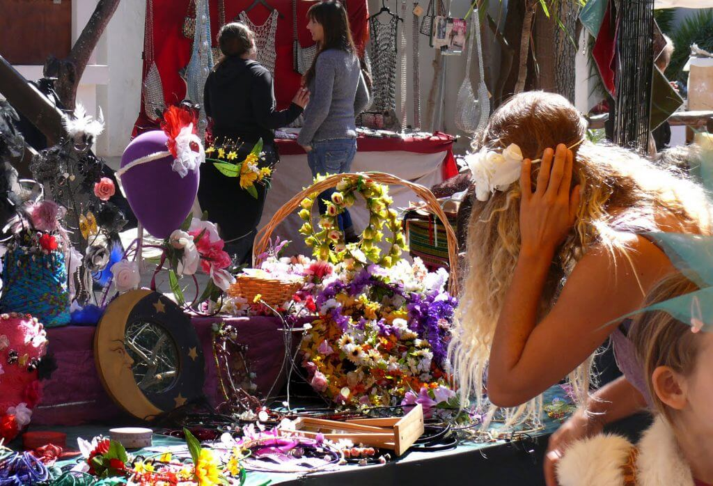 Mercadillos hippies de Ibiza