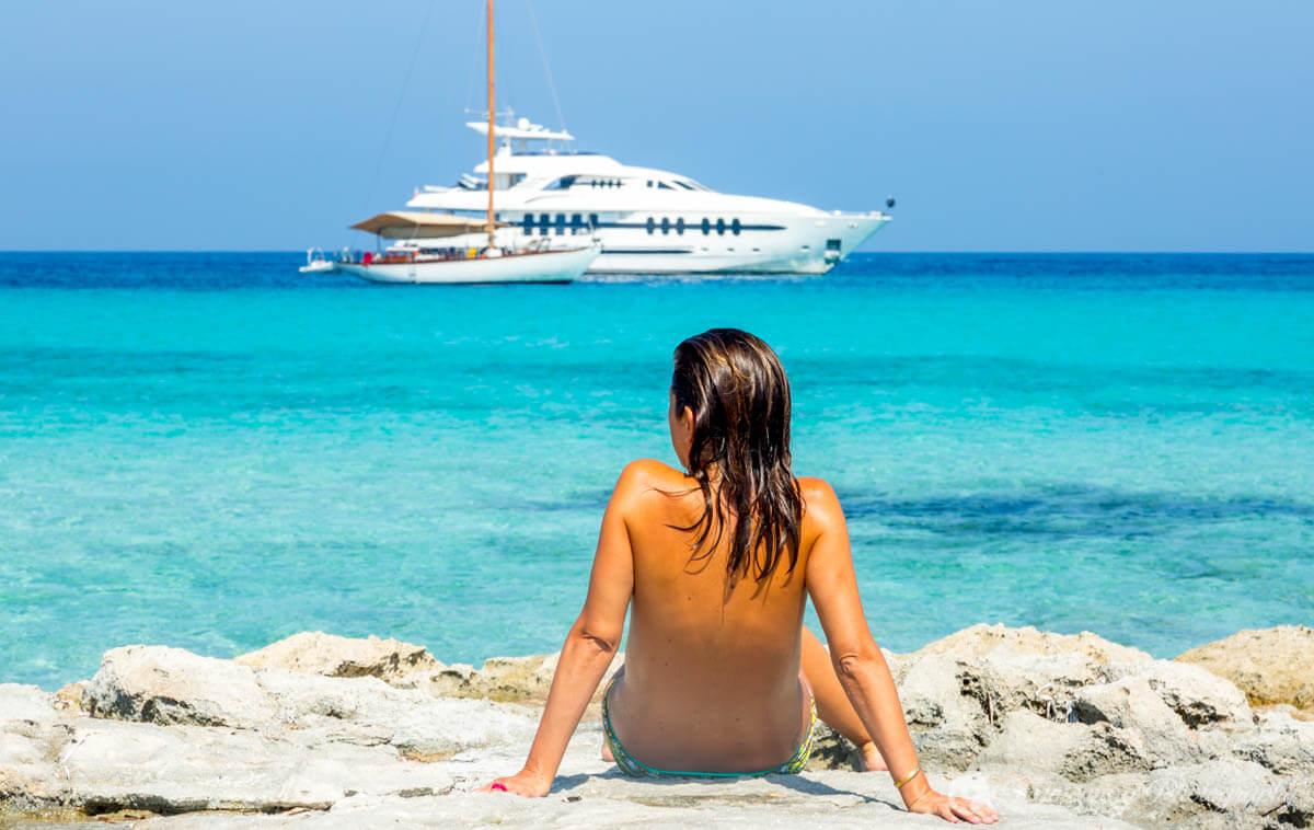 ¿Cómo ir de Ibiza a Formentera?