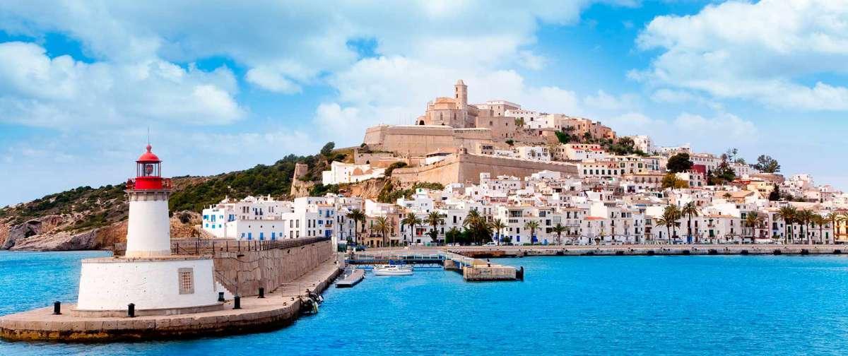 Como se llega a Ibiza