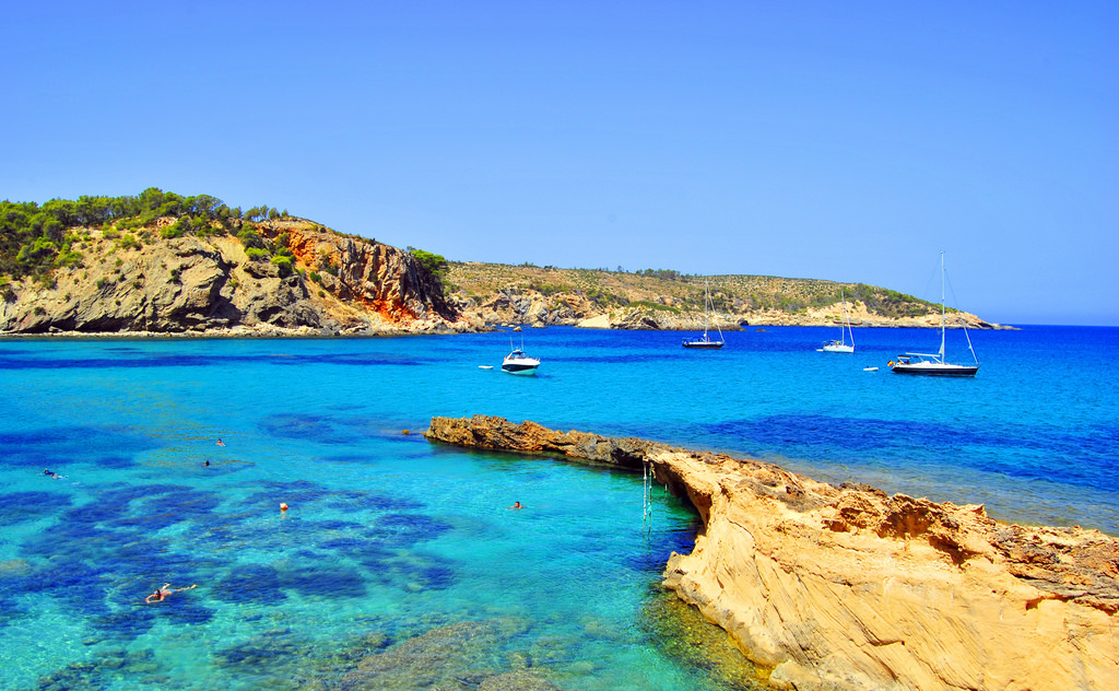 Beaches and coves of Ibiza