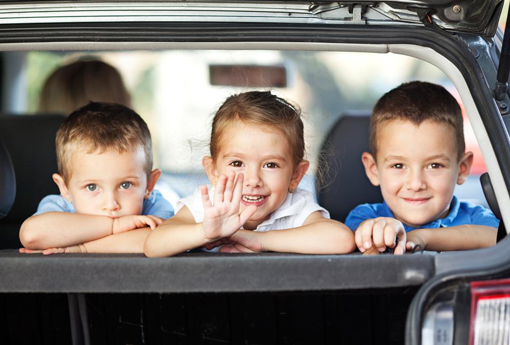 Consigli per viaggiare con i bambini in auto